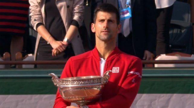 ¡Djokovic lo logró! Venció a Murray y ganó Roland Garros por primera vez