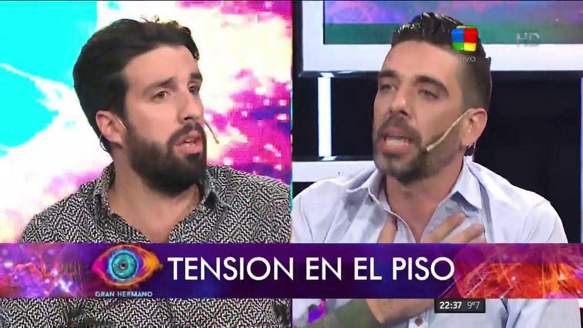 Gran Hermano 2016: Lucas se cruzó con Azzaro para defenderla a Cynthia