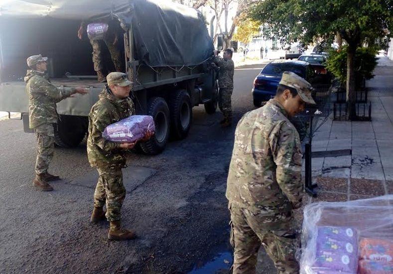 El Ejército trasladó al Chaco alimentos elaborados por la UNL