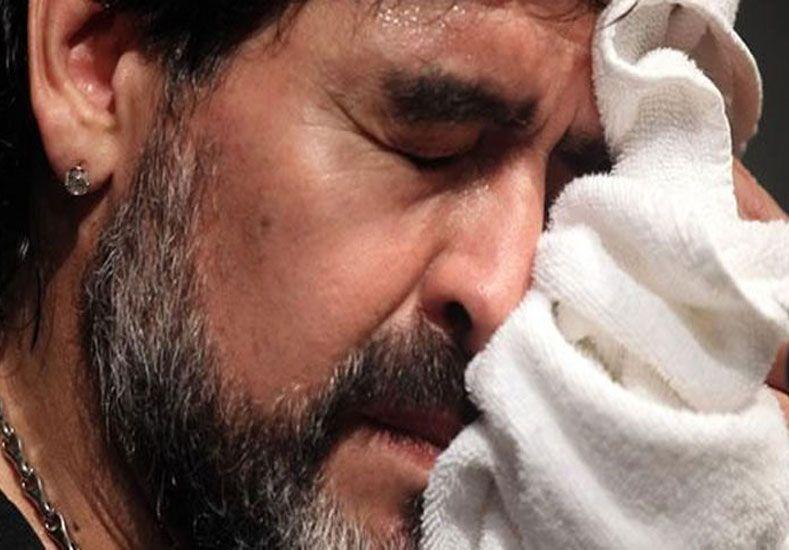 El sentido mensaje de Maradona para la máxima leyenda del boxeo