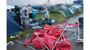 Más de 70 heridos por la caída de rayos en un festival rock en Alemania