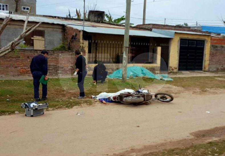Asesinaron esta tarde a un hombre de 30 años en las calles del barrio Barranquitas