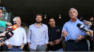 Angelici, DOnofrio, Lammens y Blanco evalúan sus renuncias a la AFA