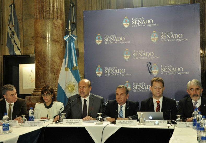 Perotti y Barañao encabezaron la tercera reunión del Consejo Interinstitucional de Ciencia y Tecnología en el Senado