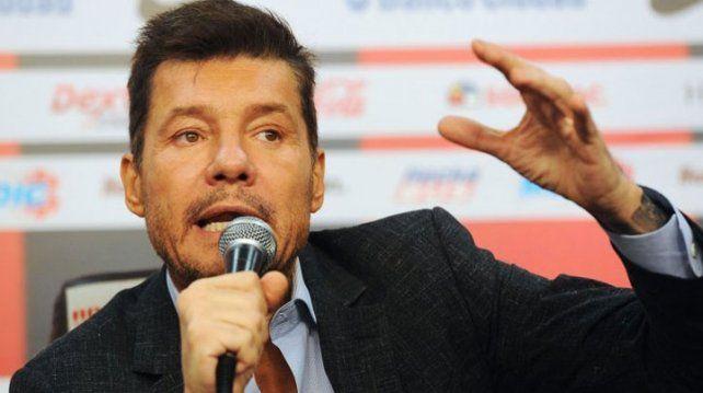 Marcelo Tinelli retiró su candidatura a presidente de la AFA