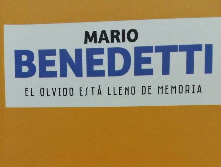 Este viernes pedí la novela de Benedetti