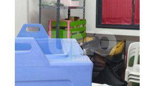 Delincuentes dejaron inutilizables vacunas antigripales en un Centro de Salud