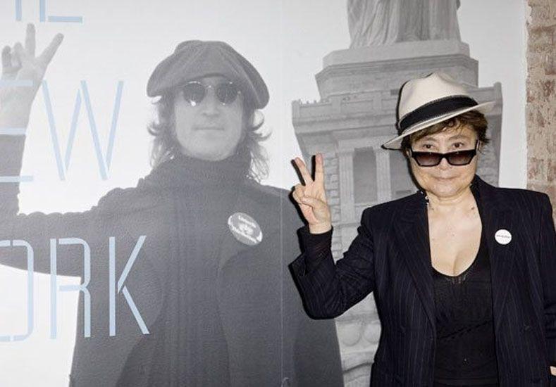 Yoko Ono llega a la Argentina para la inauguración de su exposición en Malba