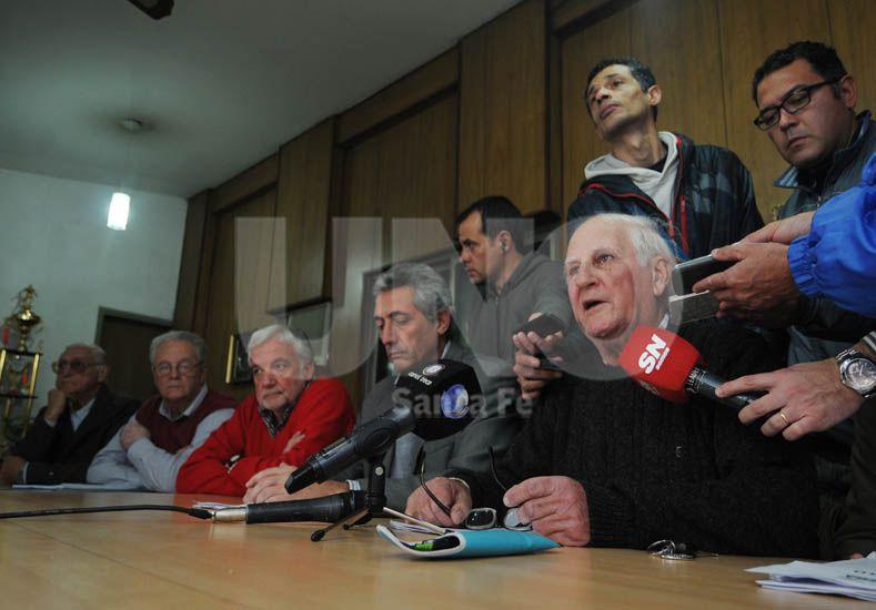 Eugenio Marcolín brindó las explicaciones por las cuales se decidió no aceptar las impugnaciones / Foto: Manuel Testi - Uno Santa Fe