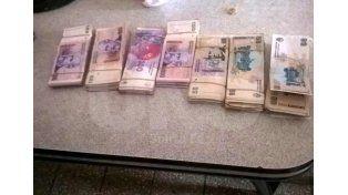Recuperaron más de 50 mil pesos robado a la firma Naranpol