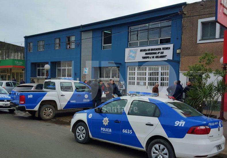 Secuestraron el revólver que llevó un alumno a la escuela en Santo Tomé