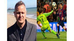 La historia del periodista inglés con cáncer y el sorpresivo regalo de Messi