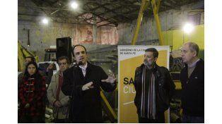 José Corral reconoció el trabajo de empleados municipales durante la Emergencia Hídrica