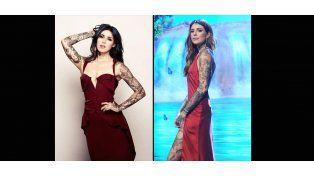 La mega estrella que inspira a la hija de Tinelli: le copia el look y los tatuajes