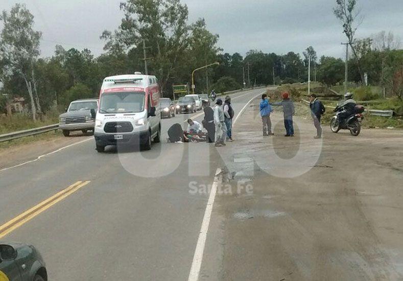 Detuvieron al conductor del auto que atropelló a un nene de 11 años en la ruta 1