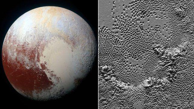 La NASA presenta la vista más detallada y fascinante de la superficie de Plutón