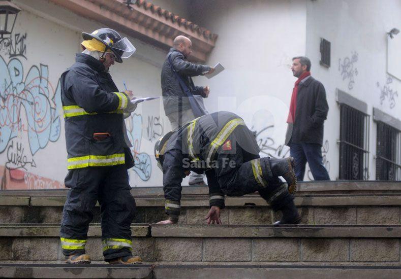 Los daños se registraron en la estructura edilicia exterior del museo