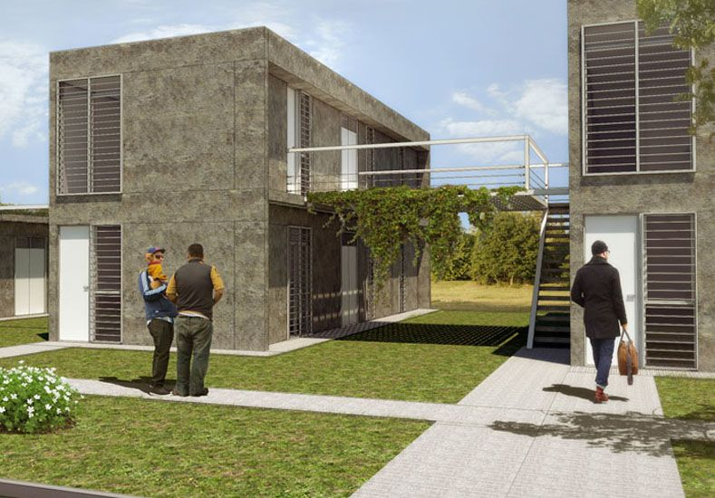 Presentaron los modelos de viviendas para el barrio Nueva Esperanza
