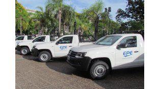 Se realizará la entrega de 48 pick-ups para la empresa provincial.// Gobierno provincia Santa Fe.