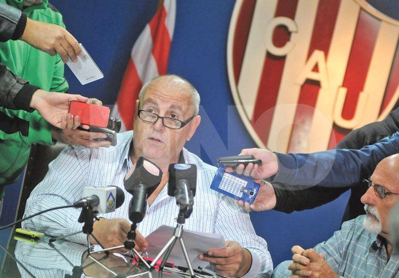 Luis Spahn contó detalladamente cómo se verían beneficiados los equipos más chicos con esta Súper Liga. Foto: Manuel Testi / UNO Santa Fe
