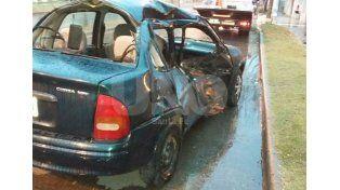 Murió un motociclista en un choque con un automóvil