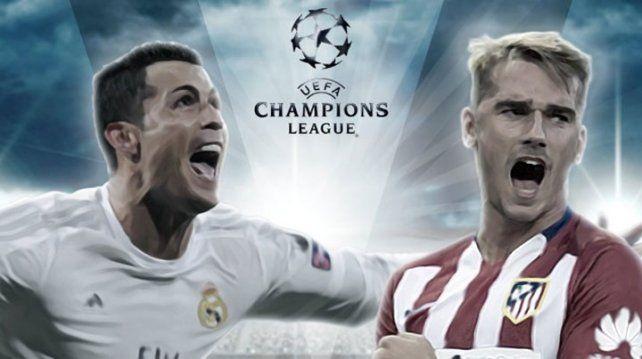 La revancha: el Atlético Madrid y el Real Madrid buscaran la Champions