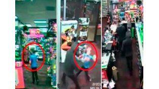 Un nene golpea a ladrón para evitar que robe el local de su familia
