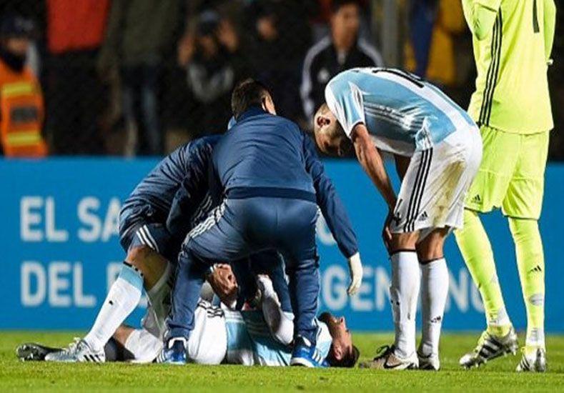 El parte oficial de Messi