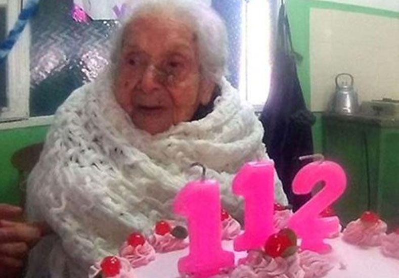 Virginia es la mujer más anciana de la Argentina