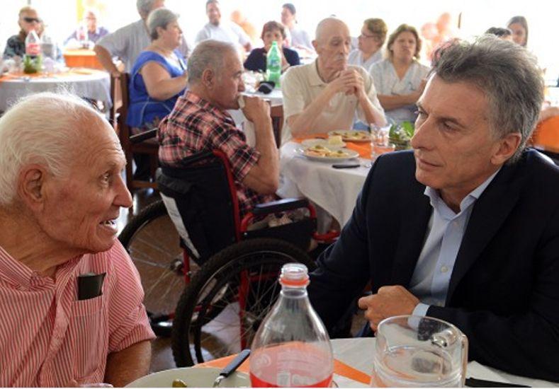 Macri anuncia el pago de juicios a los jubilados y el plan de blanqueo de capitales