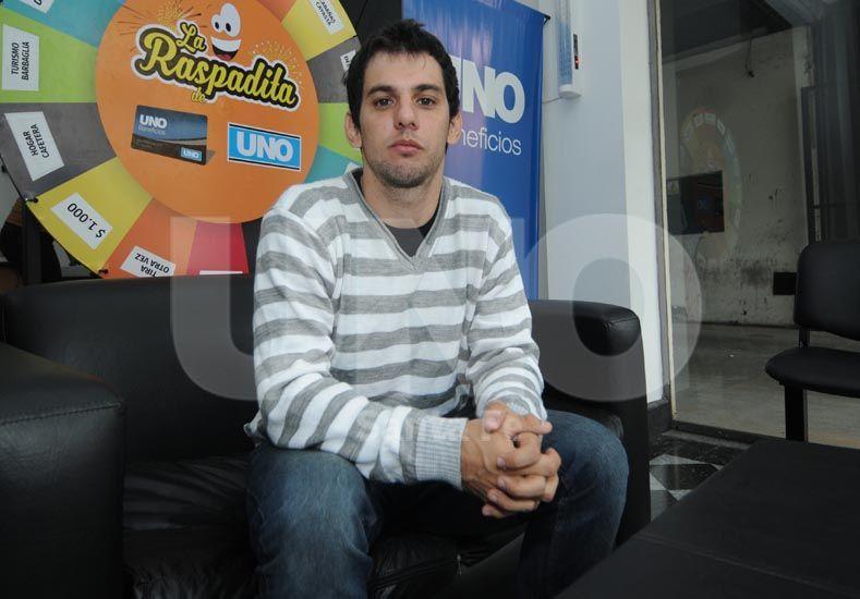 Sergio Sala candidato a presidente por la lista 23 de Octubre habló con Ovación respecto a su candidatura / Foto: José Busiemi - Uno Santa Fe
