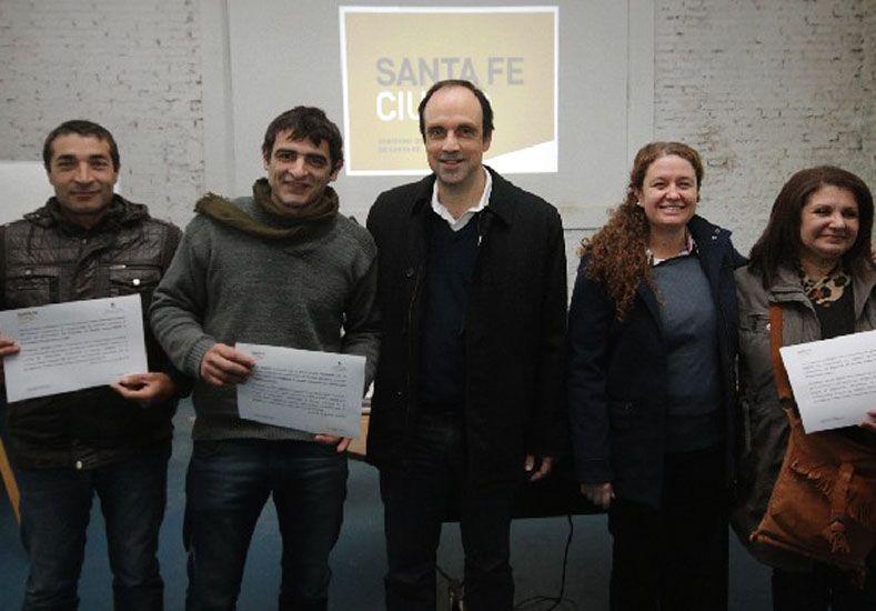 Emprendedores recibieron aportes para el desarrollo de sus proyectos