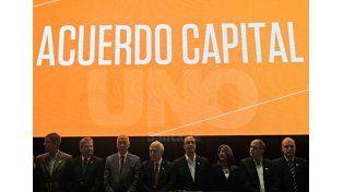El momento del lanzamiento del Acuerdo Capital