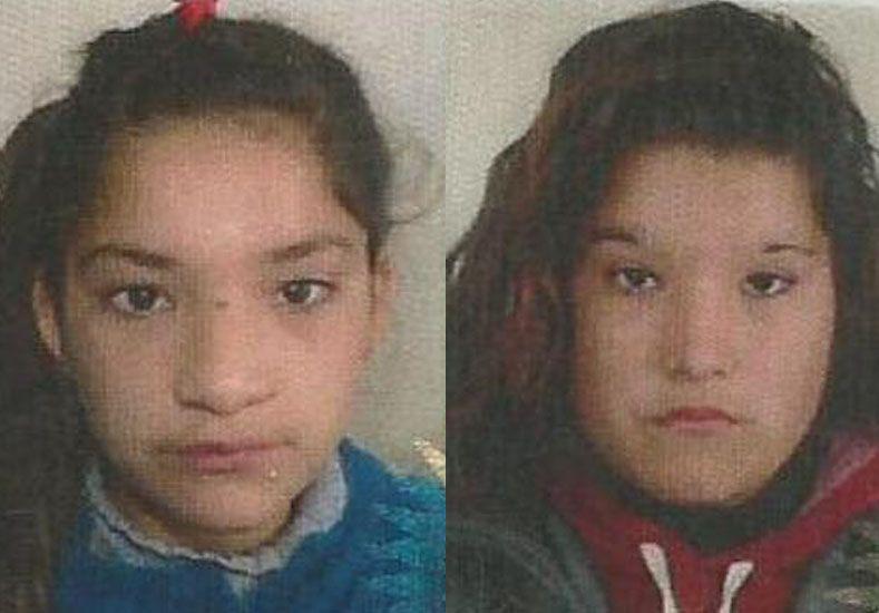 Piden por el paradero de dos hermanas de 12 y 16 años
