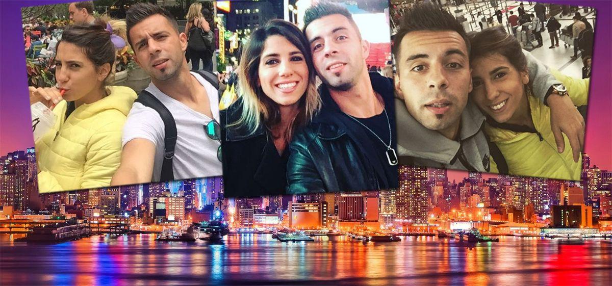 Cinthia Fernández y Defederico se fueron a Nueva York y ella se despidió de sus hijas con una emotiva carta