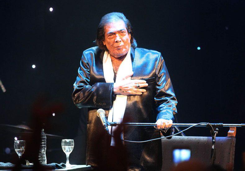 Cacho Castaña suspendió un show por cuestiones de salud