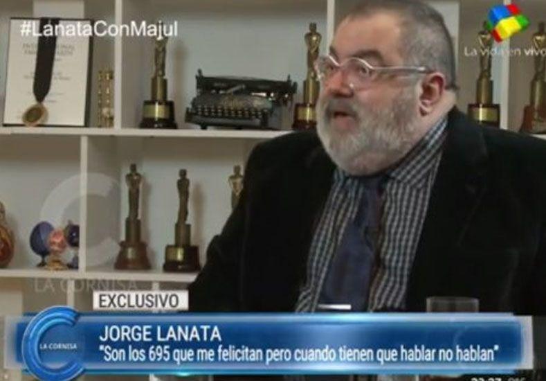 Lanata dijo que mencionar a Magnetto en los Martín Fierro fue un acto de justicia