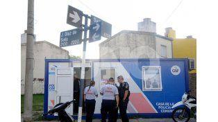 El copamiento a la sede de la Policía COmunitaria
