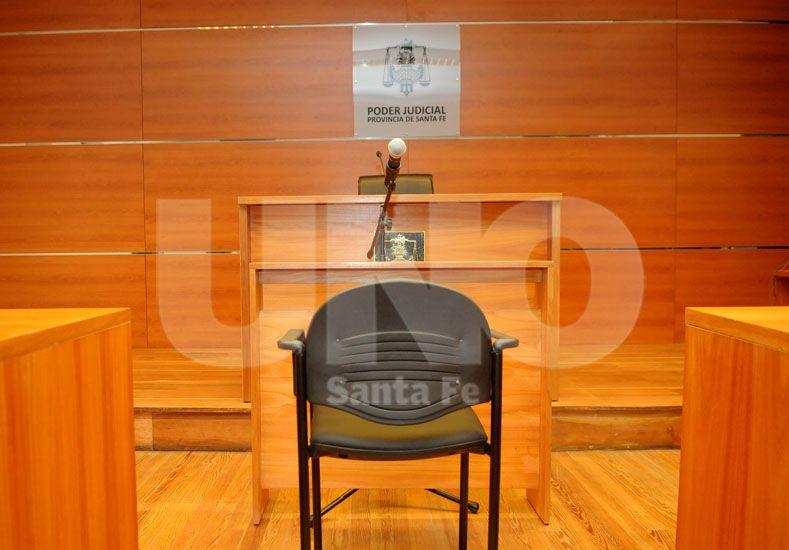 Audiencia. La decisión judicial fue luego de realizarse en la Sala Nº 3 de tribunales.