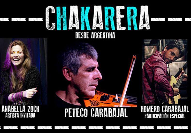 El cantante y compositor argentino llevó su gira Chakarera a toda Europa.
