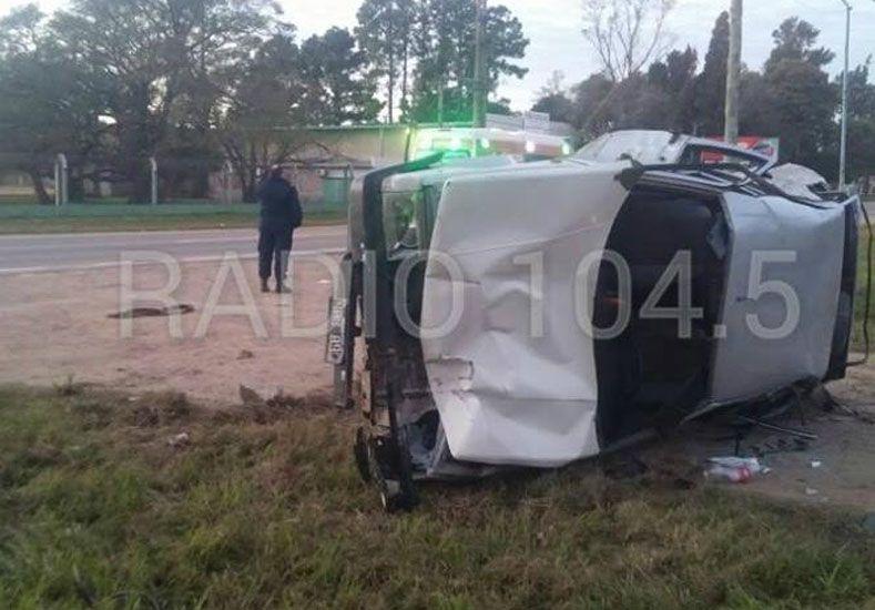 Recreo: un conductor atropelló y mató a dos jóvenes a la vera de la ruta 11