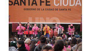 Festival del Norte: 10 mil santafesinos celebraron el otoño en el Jardín Botánico