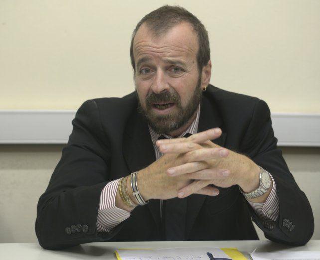 Picante. Gabriel Ganón criticó a los poderes Ejecutivo y Judicial.