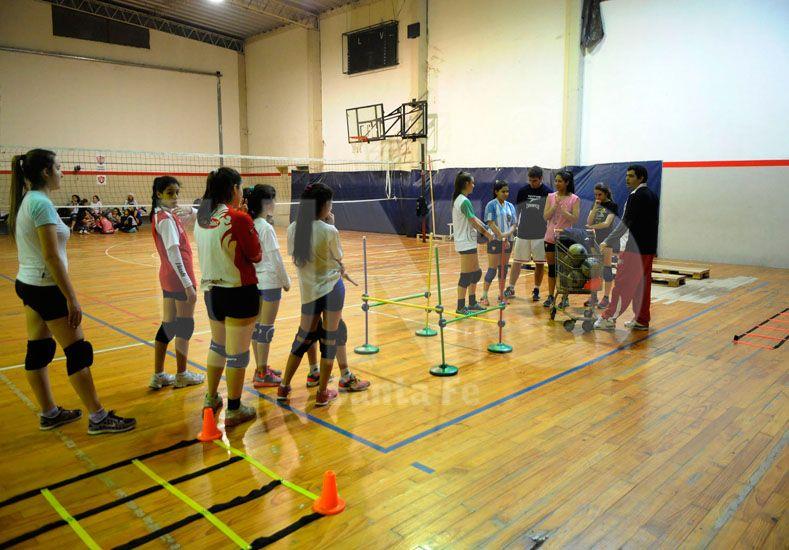Destacada. Mirabella resaltó el valor de la inclusión social de niños y adolescentes que tienen los clubes / Foto: José Busiemi - Uno Santa Fe