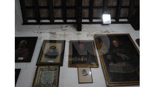Humedad. Después de las últimas lluvias se generaron problemas en la galería y en el techo. UNO de Santa Fe/Juan M. Baialardo