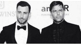 El novio de Ricky Martin quiere aprender español