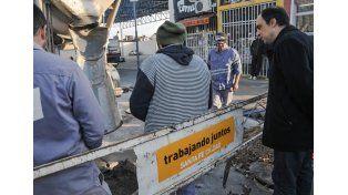 Plan de Bacheo: el intendente recorrió el avance de trabajos en el Sur de la ciudad