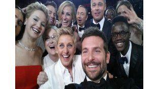 """Como el Oscar, el Martín Fierro tuvo su """"selfie"""""""