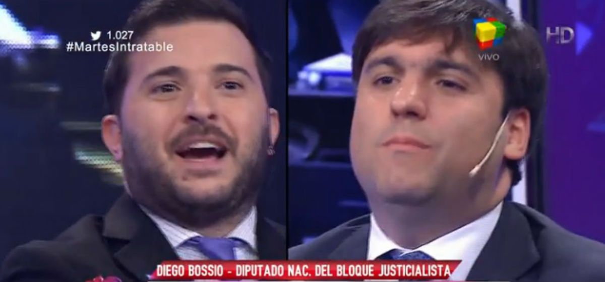 Brancatelli chicaneó a Bossio y recibió una dura respuesta