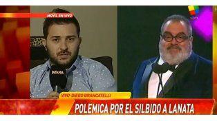 Brancatelli: No me arrepiento de haber silbado a Lanata